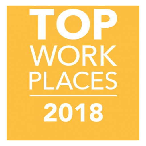 The Oregonian Names Pavelcomm a Winner of the Oregon/Southwest Washington 2018 Top Workplaces Award
