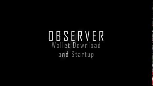 OBSR Wallet Installation