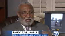 Timothy T. Williams Jr., police procedure and use-of-force expert