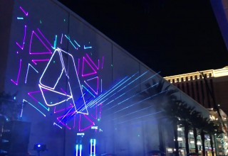 Laser Mapping Adds Massive Visual Impact at Special Events