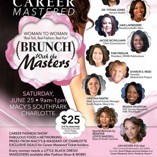 Brunch With the Masters: Woman to Woman Business Collaborative to Benefit Youth