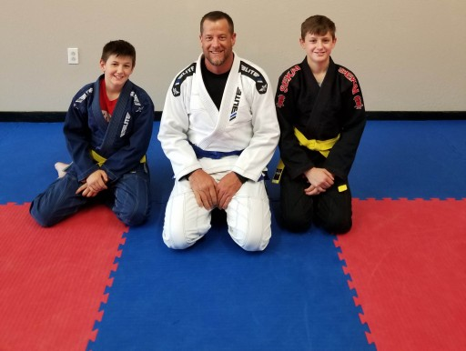 Louisburg Jiu-Jitsu Training on Greatmats Tatami Puzzle Mats