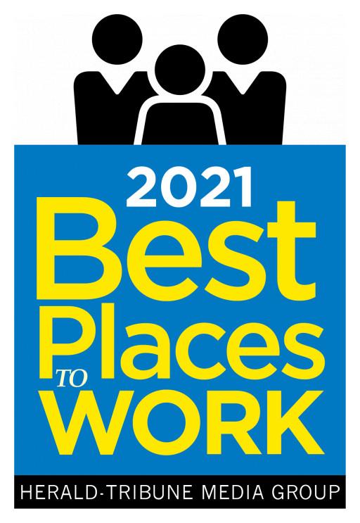 Perform[cb] Named #1 Best Place to Work 2021 Sarasota Herald-Tribune