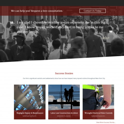 Orlando Web Marketing and Design Company AuthenticWEB Launches New Website for The Orlow Firm