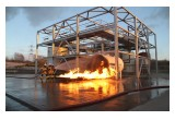 Fire Training at Petrochemical Training Structure