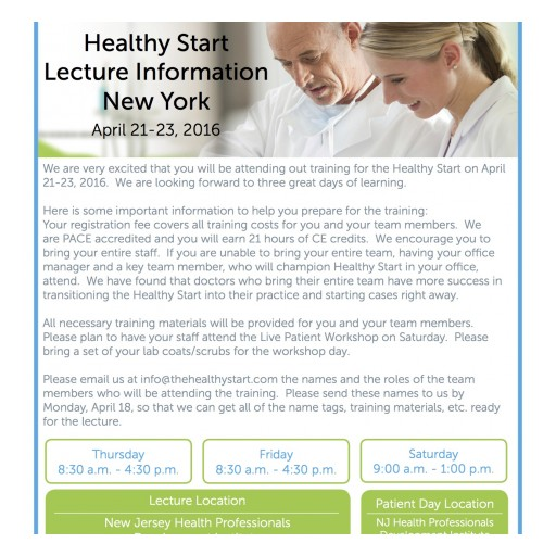 Can Anyone Fix My Child's Sleep Issues? Answers NY and NJ Lecture Series on April 21-23