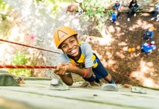Camper at Camp