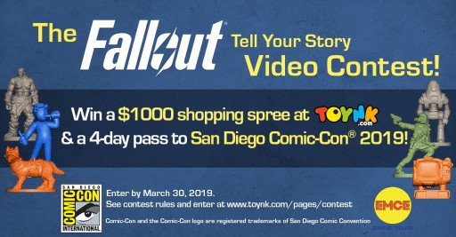 Toynk Toys' Announces the Fallout: 'Tell Your Story' Video Contest