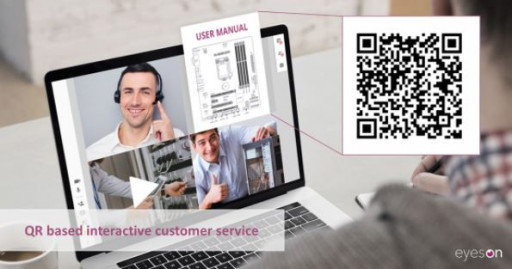 eyeson enables an instant visual connection to customer service