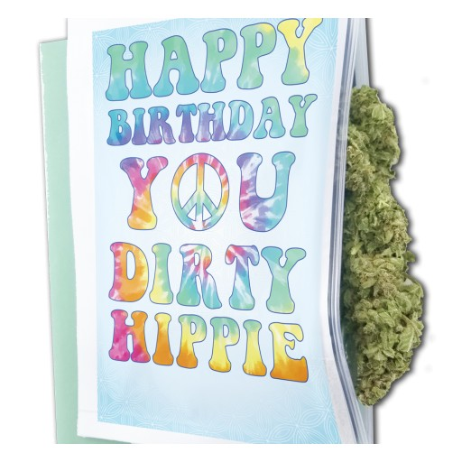 Green Card Greetings Launches the First Greeting Card Gift Bag for Marijuana Products