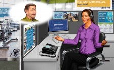 In-Shape Call Center Environment