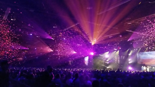 Custom Confetti Creates Colorful Event Energy From Live Effects Team at TLC Creative