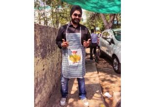 Pujneet Singh owner of Bhooka Saand