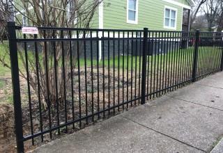 5'H Ameristar Montage Plus Ornamental Steel Fence System