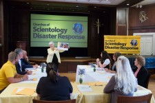 Scientology Volunteer Ministers met at Church of Scientology Nashville