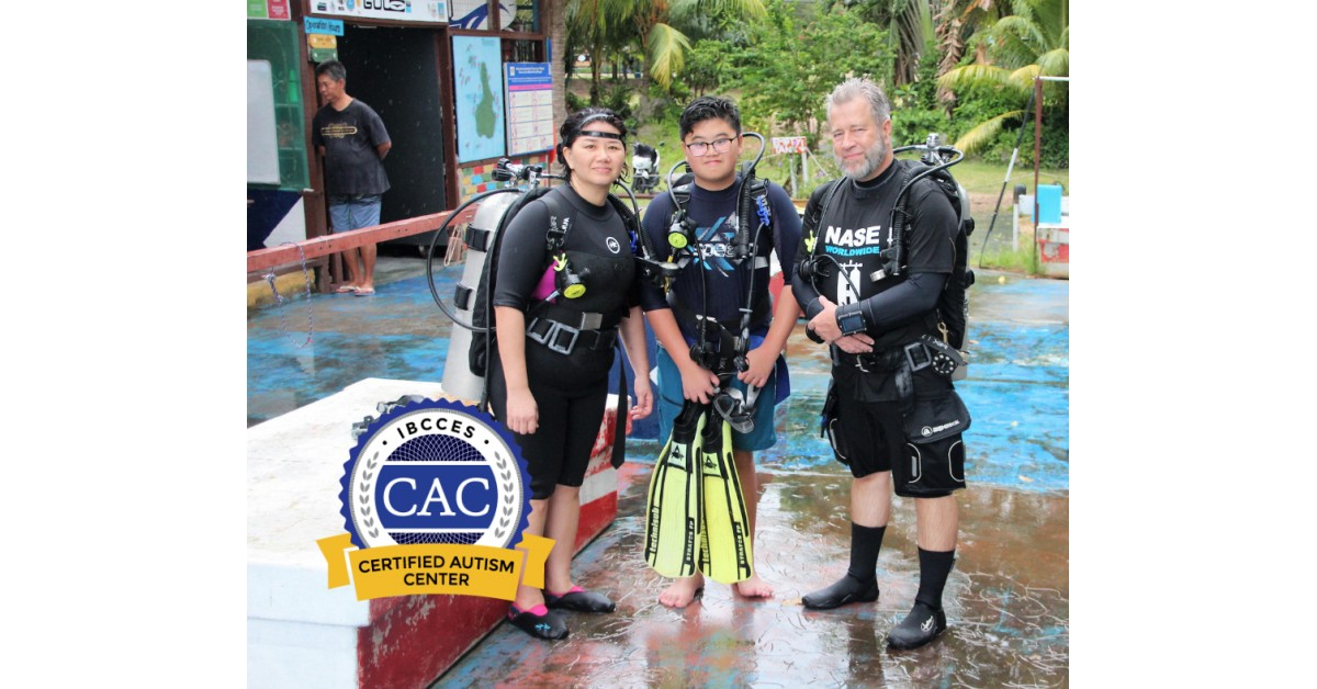First Dive Shop in Asia to Earn the Certified Autism Center