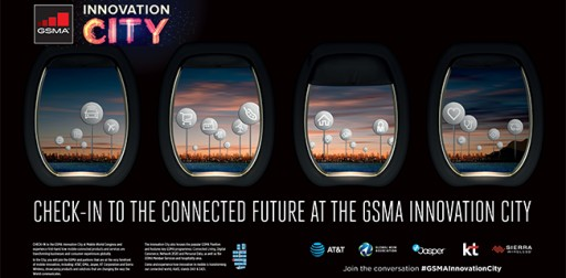 Check in to the GSMA Innovation City at Mobile World Congress