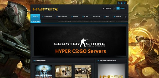 Gaming Bitcoin Alternative HYPER Sponsors 10 Game Servers on CashNCarry.info, Dedicated USB Staking Machines Launched