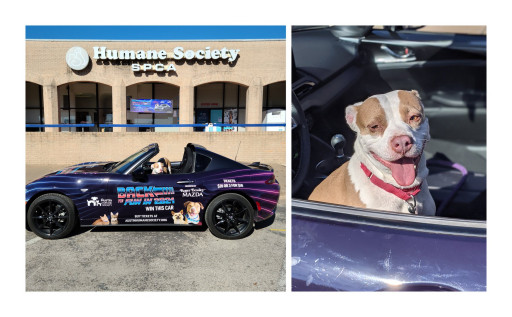 Roger Beasley Mazda and the Austin Humane Society Celebrate Saving Animals by Hosting the 17th Annual AHS Car Raffle