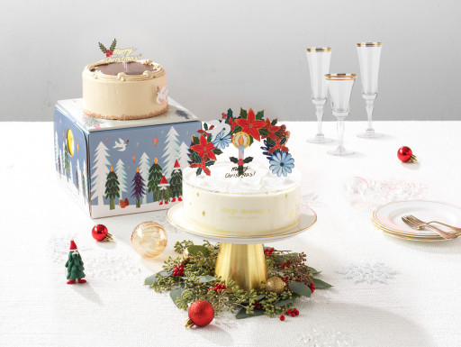 TOUS Les JOURS to Launch Christmas Seasonal Cakes