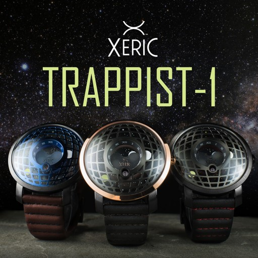 The Xeric Trappist-1 Moonphase Watch - Bending Time & Space