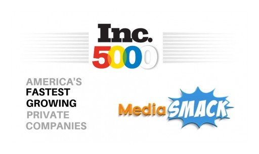 MediaSmack Ranks in Inc. 5000 List for Third Year