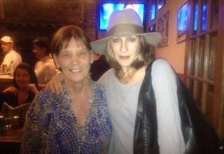 Sarah Jessica Parker with Eugenia Biamonte