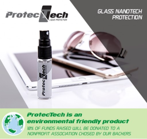ProtecTech Introduces Their New and Improved NanoTech Liquid Protection Spray for Glass Surfaces