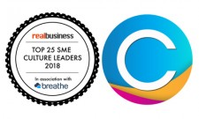 "Claromentis voted ""Top 25 SME Culture Leader"" by Real Business"