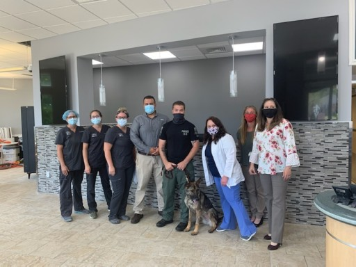 Absecon Veterinary Hospital Partners With National Charity to Provide Free, Life-Saving Veterinary Care to Retired Police and Military Working Dogs of New Jersey and Beyond