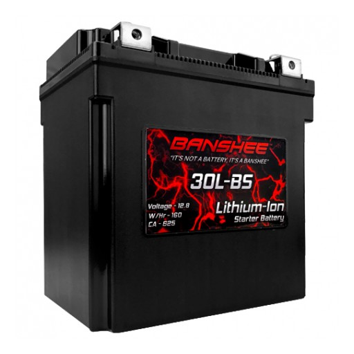 Bigtime Battery Introduces New Advanced Lithium Ion Motorcycle Batteries