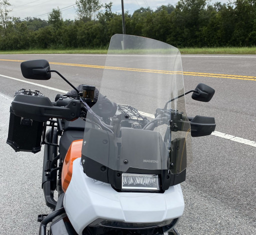 MadStad Windshield System for the Harley Pan America on Display During Biketoberfest 2021
