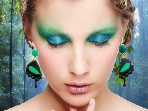 Blue Goddess Co Eco-Friendly, Ethically Collected, Butterfly Wing Jewelry is Making Waves