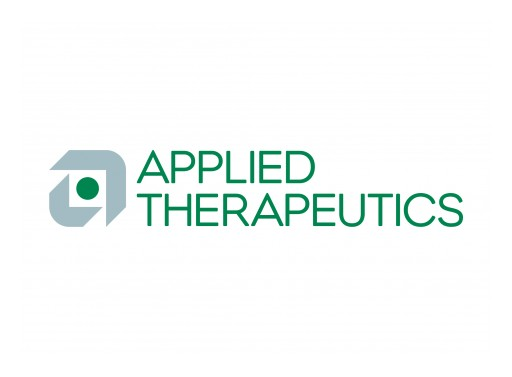 Applied Therapeutics Announces Appointment of Riccardo Perfetti, MD, PhD, as Chief Medical Officer