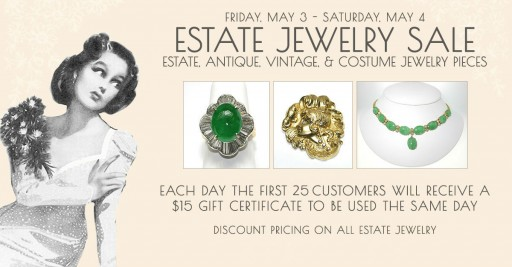 Good Old Gold Hosting Semi Annual Estate Jewelry Sale This Weekend