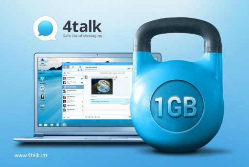 Share Files Up To 1GB Right In Your Instant Messenger