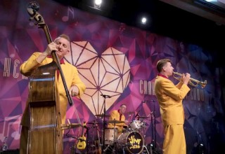 The Jive Aces at the Church of Scientology Dublin Community Centre