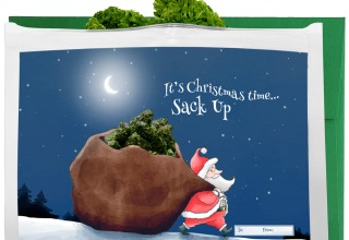 Sack Up - Holiday Greeting Gift Bag