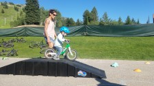 Bicycle Playdate Activity on a Balance Bike