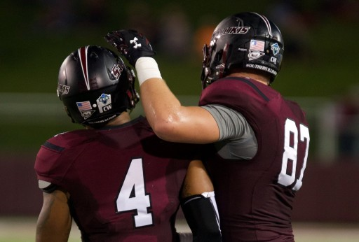 Adam Fuehne, 6-7, 265 TE of Southern Illinois NFL Draft Stock Rising After Team Workouts per Inspired Athletes
