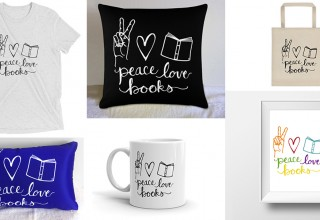 """""""Peace, Love, Books"""" Collection"""
