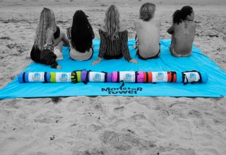 Monster Towel comes in six cool colors
