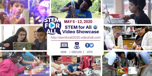 TERC Hosts 6th Annual STEM for All Video Showcase, Funded by NSF, to Broaden Participation and Access to STEM Education on May 5-12