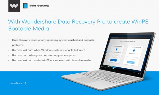 New Update! Recover Data From Crashed Computer System With Wondershare Data Recovery Pro