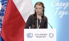 Greta Thunberg at United Nations Climate Conference