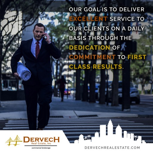 Jeff Dervech Launches New Website Highlighting Commercial Real Estate Services to the Southeast