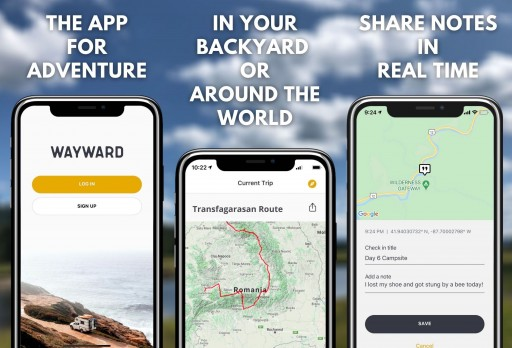 Introducing Lost Travel's Wayward: The App for Adventurers