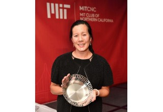 "Aileen Lee -  recipient of the 2018 AI Innovator ""Better World"" Award"
