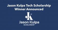 Jason Kulpa Tech Scholarship Winner is from University of Kansas