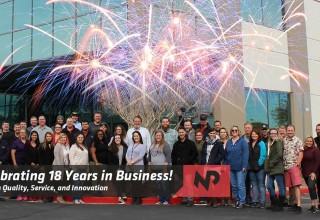 Nationwide Power Celebrates 18 Years